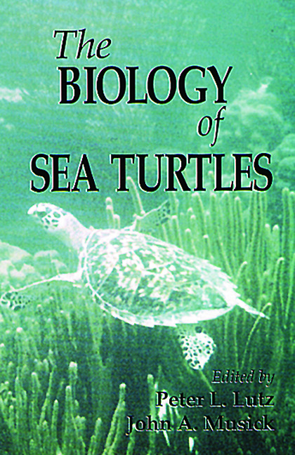 The Biology of Sea Turtles, Volume I: 1st Edition (Hardback) book cover