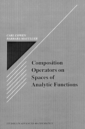 Composition Operators on Spaces of Analytic Functions book cover