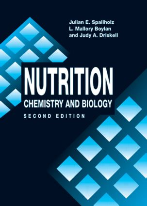 Nutrition: CHEMISTRY AND BIOLOGY, SECOND EDITION book cover