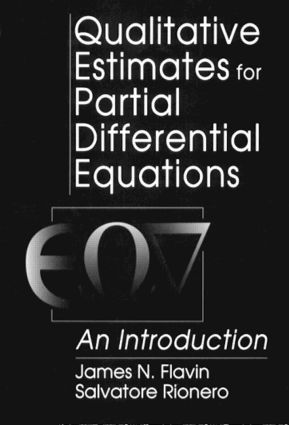 Qualitative Estimates For Partial Differential Equations: An Introduction, 1st Edition (Hardback) book cover