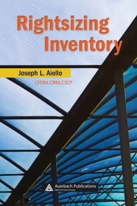 Rightsizing Inventory: 1st Edition (Hardback) book cover