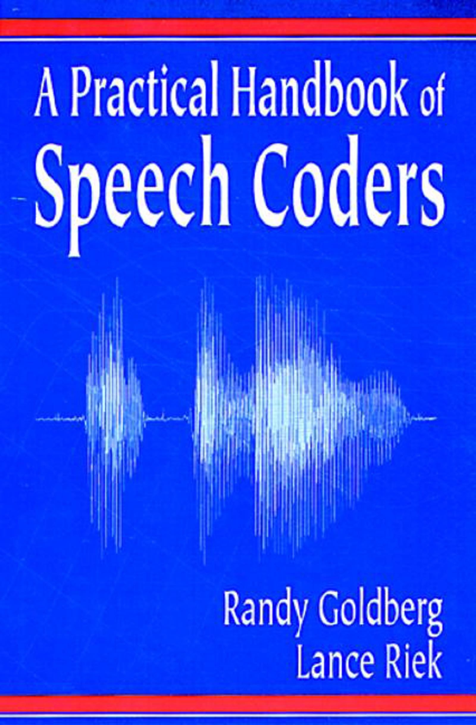 A Practical Handbook of Speech Coders: 1st Edition (Hardback) book cover