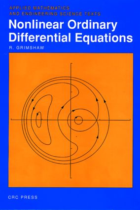 Nonlinear Ordinary Differential Equations: 1st Edition (Hardback) book cover