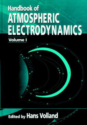 Handbook of Atmospheric Electrodynamics, Volume I: 1st Edition (Hardback) book cover