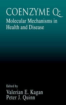 Coenzyme Q: Molecular Mechanisms in Health and Disease book cover