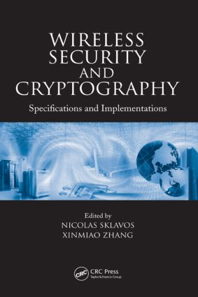 Wireless Security and Cryptography: Specifications and Implementations, 1st Edition (Hardback) book cover