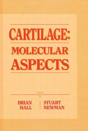 Cartilage Molecular Aspects: 1st Edition (Hardback) book cover