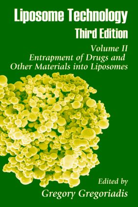 Liposome Technology: Entrapment of Drugs and Other Materials into Liposomes, 3rd Edition (Hardback) book cover
