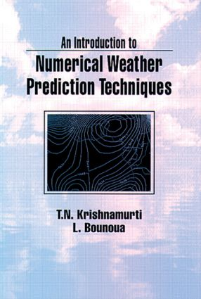 An Introduction to Numerical Weather Prediction Techniques: 1st Edition (e-Book) book cover