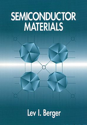 Semiconductor Materials: 1st Edition (Hardback) book cover