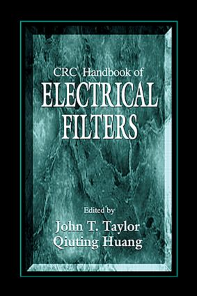 CRC Handbook of Electrical Filters: 1st Edition (Hardback) book cover