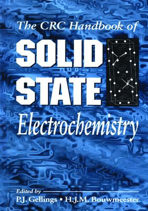 Handbook of Solid State Electrochemistry: 1st Edition (Hardback) book cover