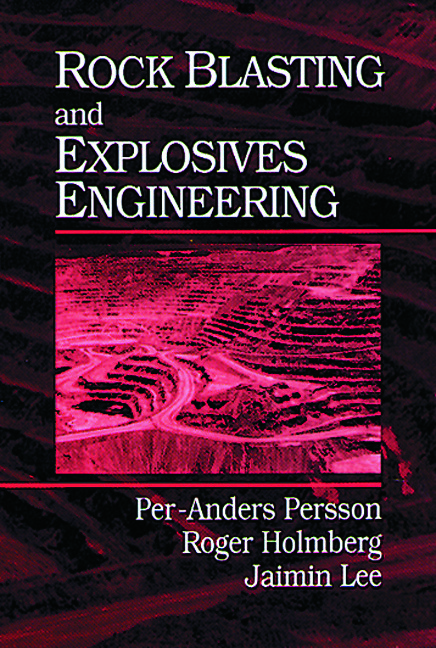 Rock Blasting and Explosives Engineering: 1st Edition (Hardback) book cover