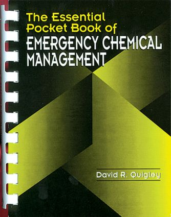 The Essential Pocket Book of Emergency Chemical Management book cover