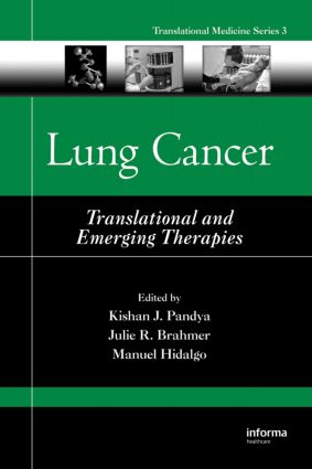 Lung Cancer: Translational and Emerging Therapies book cover