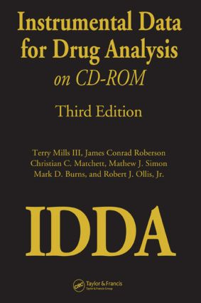Instrumental Data for Drug Analysis on CD-Rom: 1st Edition (CD-ROM) book cover