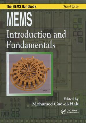 MEMS: Introduction and Fundamentals book cover