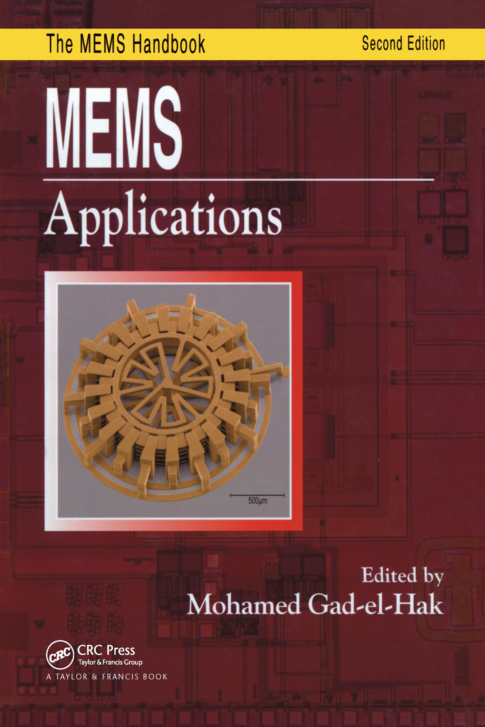 MEMS: Applications, 1st Edition (Hardback) book cover