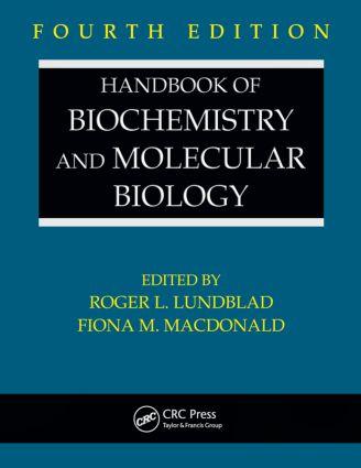 Handbook of Biochemistry and Molecular Biology: 4th Edition (Hardback) book cover