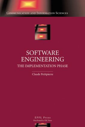 Software Engineering: The Implementation Phase, 1st Edition (Hardback) book cover