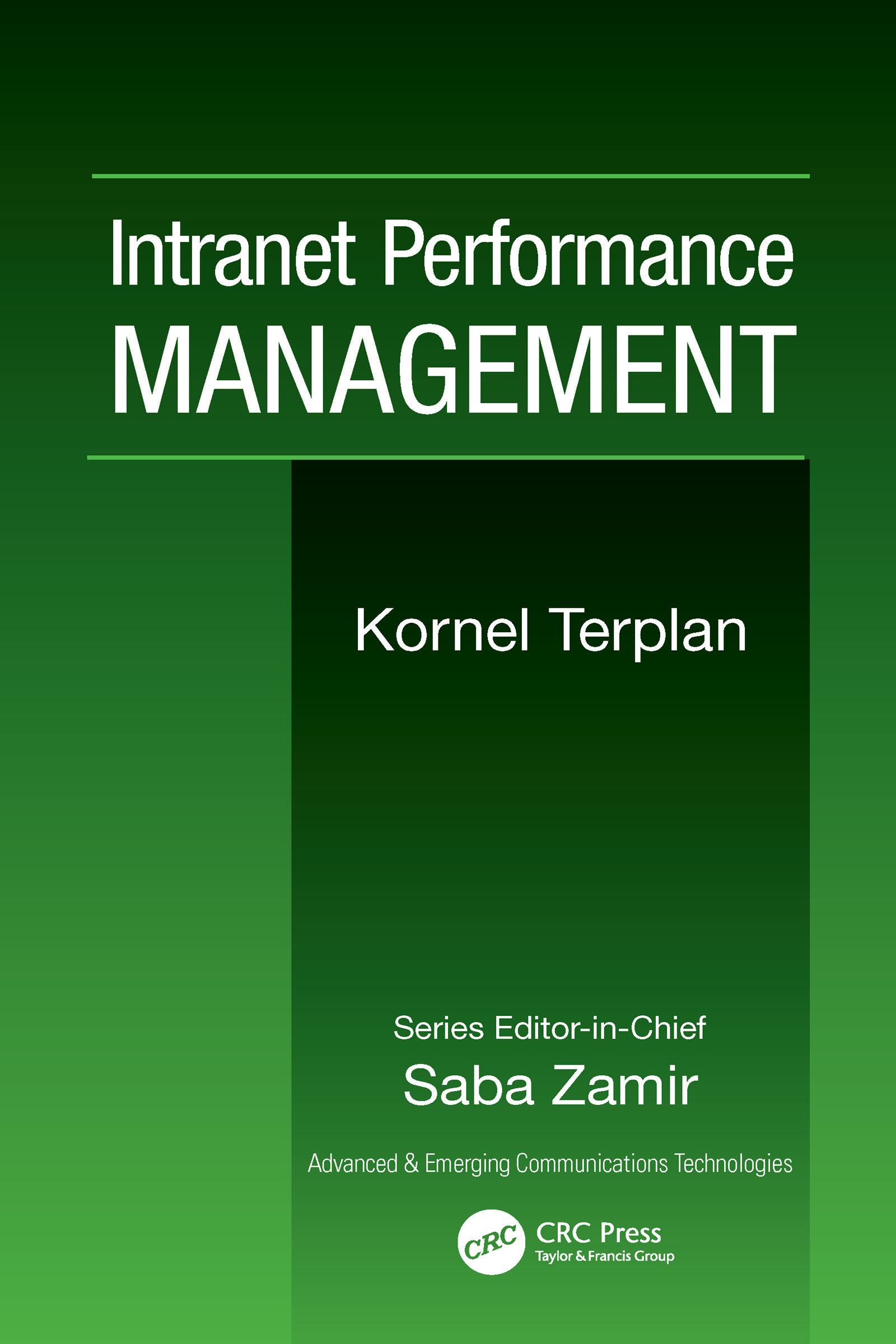 Intranet Performance Management book cover