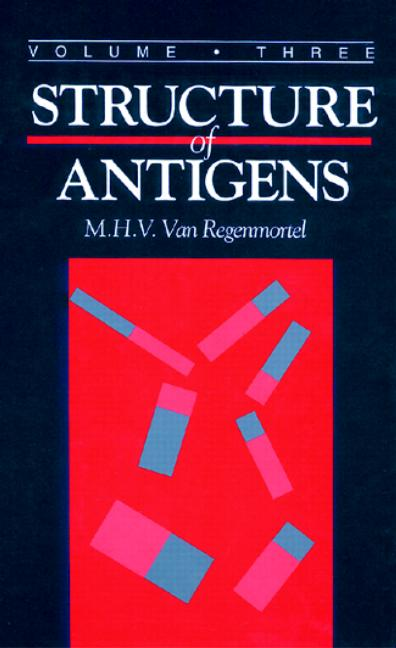 Structure of Antigens, Volume III: 1st Edition (Hardback) book cover