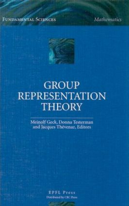 Group Representation Theory: 1st Edition (Hardback) book cover