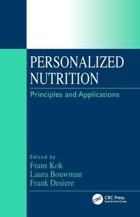 Personalized Nutrition: Principles and Applications, 1st Edition (Hardback) book cover