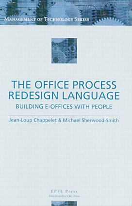 The Office Process Redesign Language: 1st Edition (Hardback) book cover