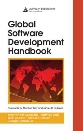 Global Software Development Handbook (Hardback) book cover