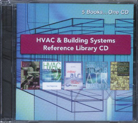 HVAC and Building Systems Reference Library CD (Hardback) book cover