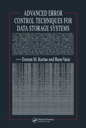 Advanced Error Control Techniques for Data Storage Systems: 1st Edition (Hardback) book cover