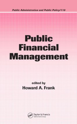 Public Financial Management: 1st Edition (Hardback) book cover
