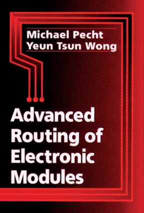 Advanced Routing of Electronic Modules: 1st Edition (Hardback) book cover