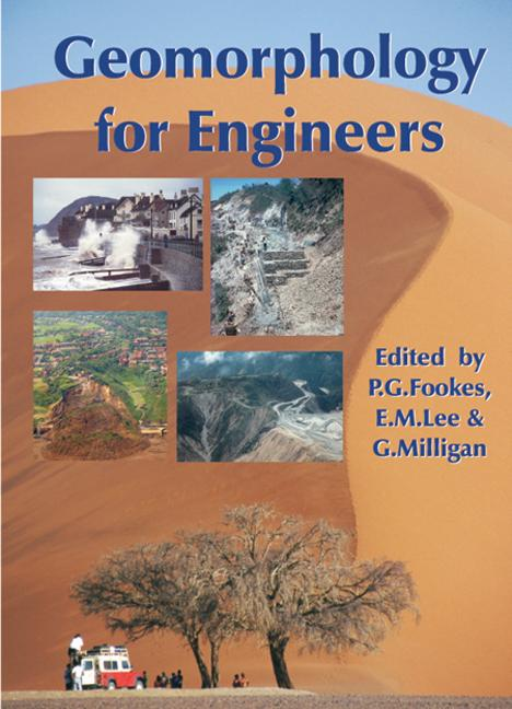 Geomorphology for Engineers (Hardback) book cover