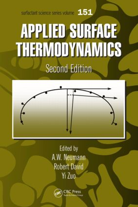 Applied Surface Thermodynamics, Second Edition book cover