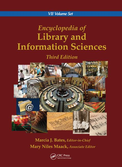 Encyclopedia of Library and Information Sciences, Third Edition (Print Version): 3rd Edition (Hardback) book cover