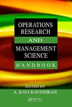 Operations Research and Management Science Handbook book cover