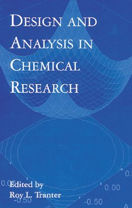 Design and Analysis in Chemical Research: 1st Edition (Hardback) book cover