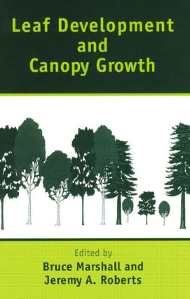 Leaf Development and Canopy Growth: 1st Edition (Hardback) book cover