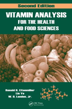 Vitamin Analysis for the Health and Food Sciences: 2nd Edition (Hardback) book cover