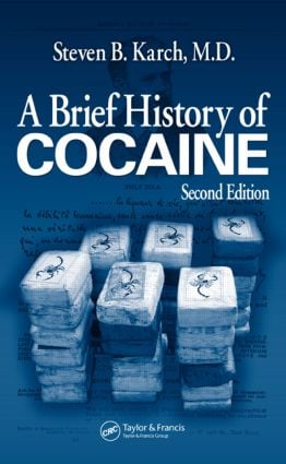 A Brief History of Cocaine: 2nd Edition (Paperback) book cover