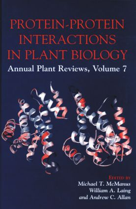 Protein-Protein Interactions in Plant Biology (Hardback) book cover