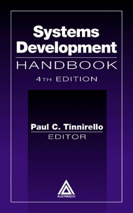 Systems Development Handbook, Fourth Edition: 2nd Edition (Hardback) book cover