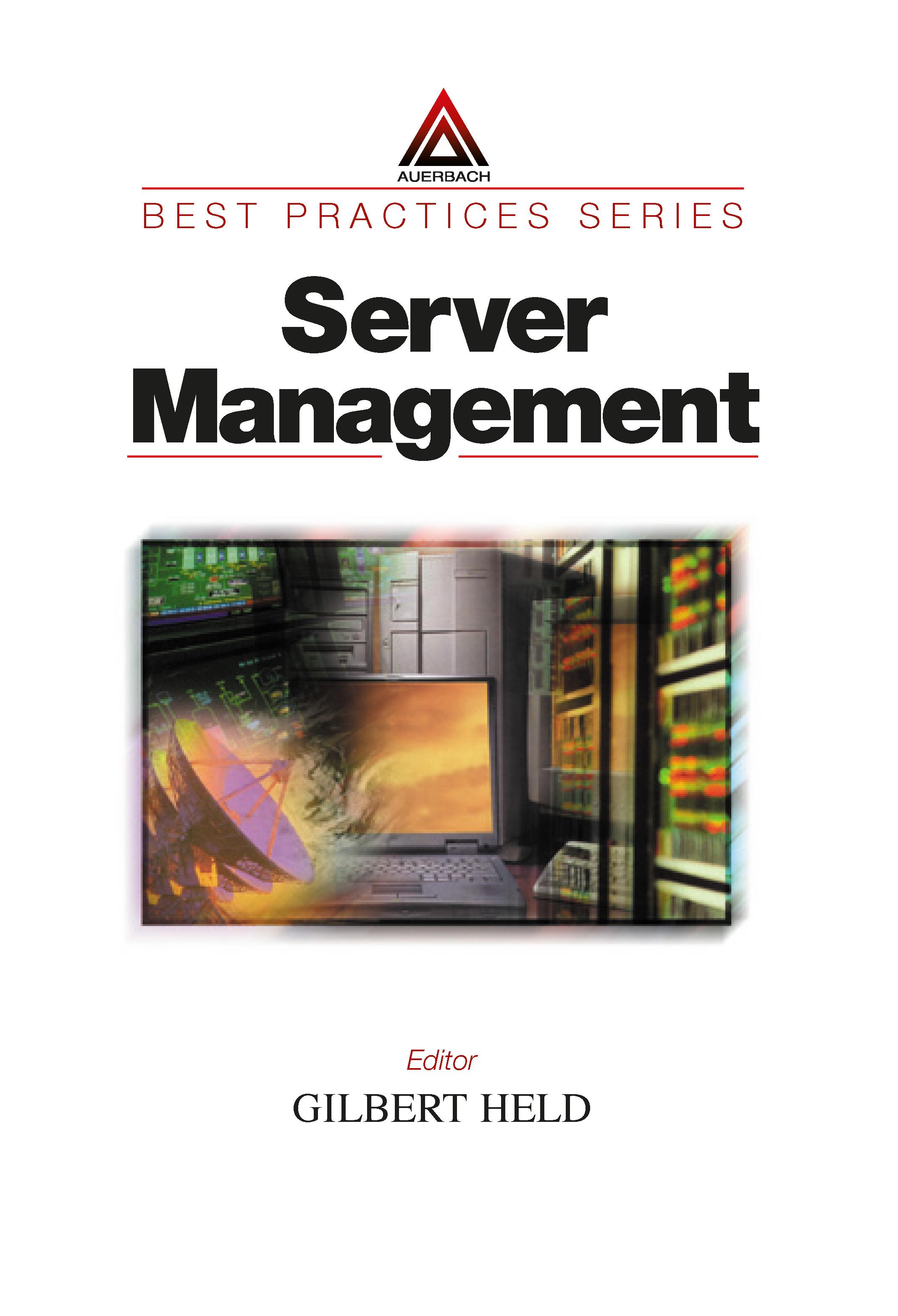 Server Management book cover