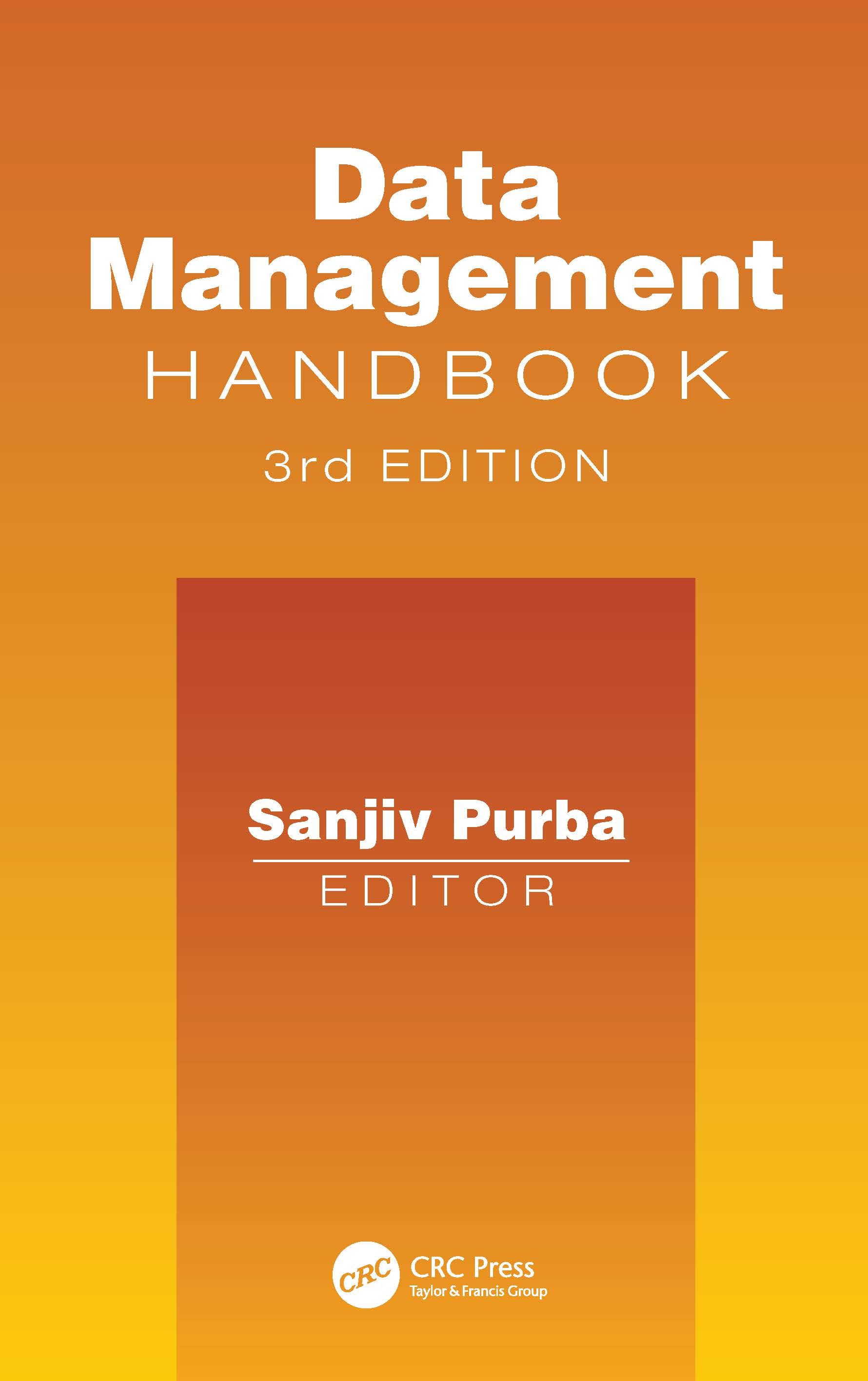 Handbook of Data Management1999 Edition: 3rd Edition (Hardback) book cover