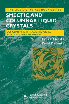 Smectic and Columnar Liquid Crystals: Concepts and Physical Properties Illustrated by Experiments book cover