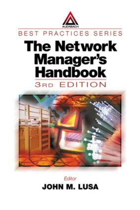 The Network Manager's Handbook, Third Edition: 1999 book cover