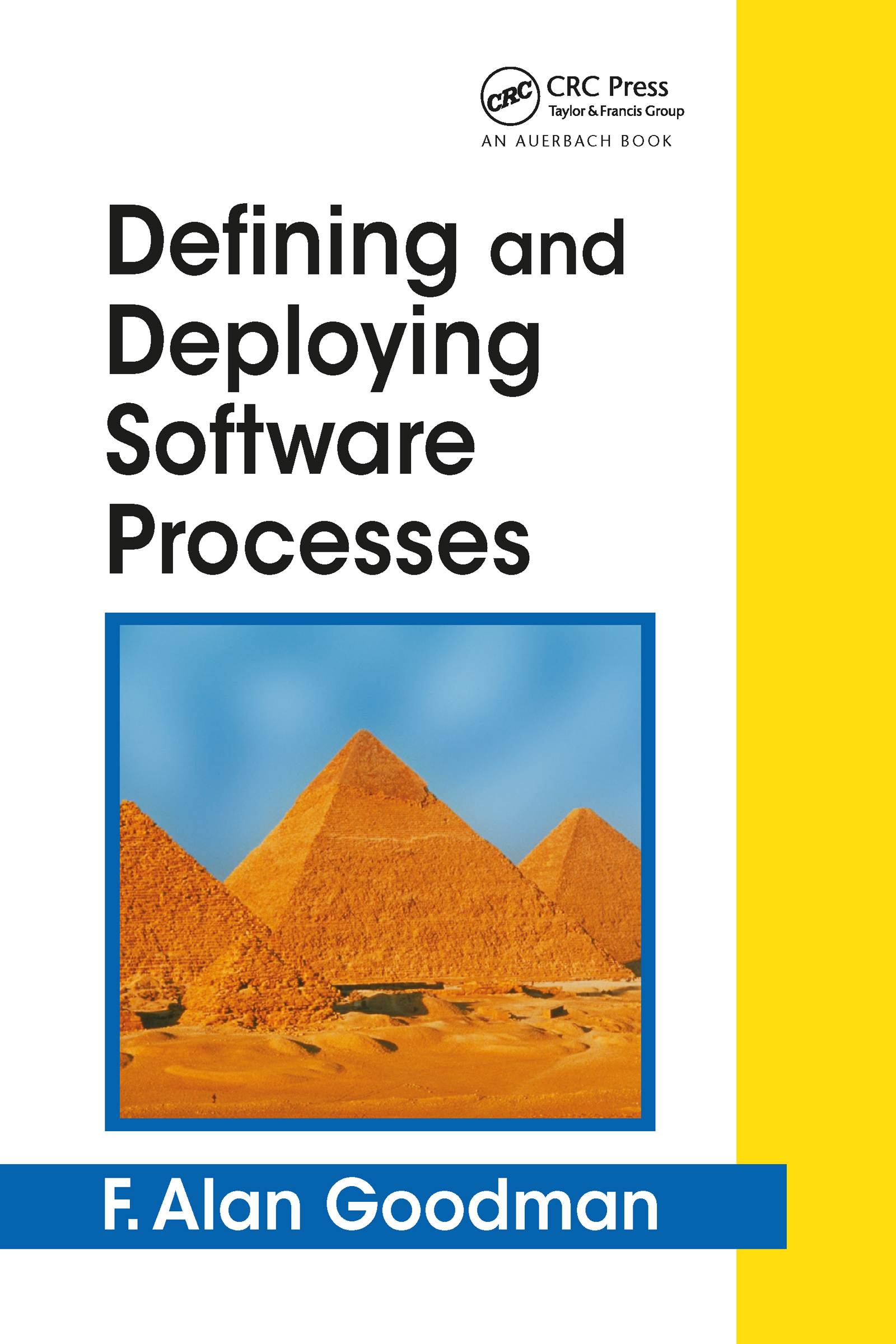 Defining and Deploying Software Processes: 1st Edition (Hardback) book cover