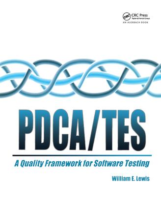 PDCA/Test: 1st Edition (Hardback) book cover